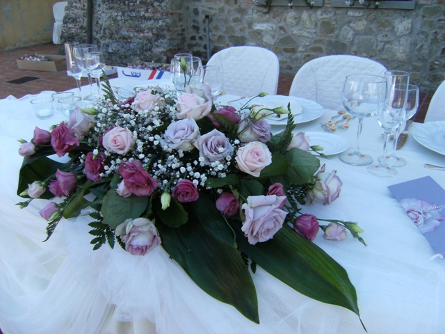 Flowers Wedding In Tuscany